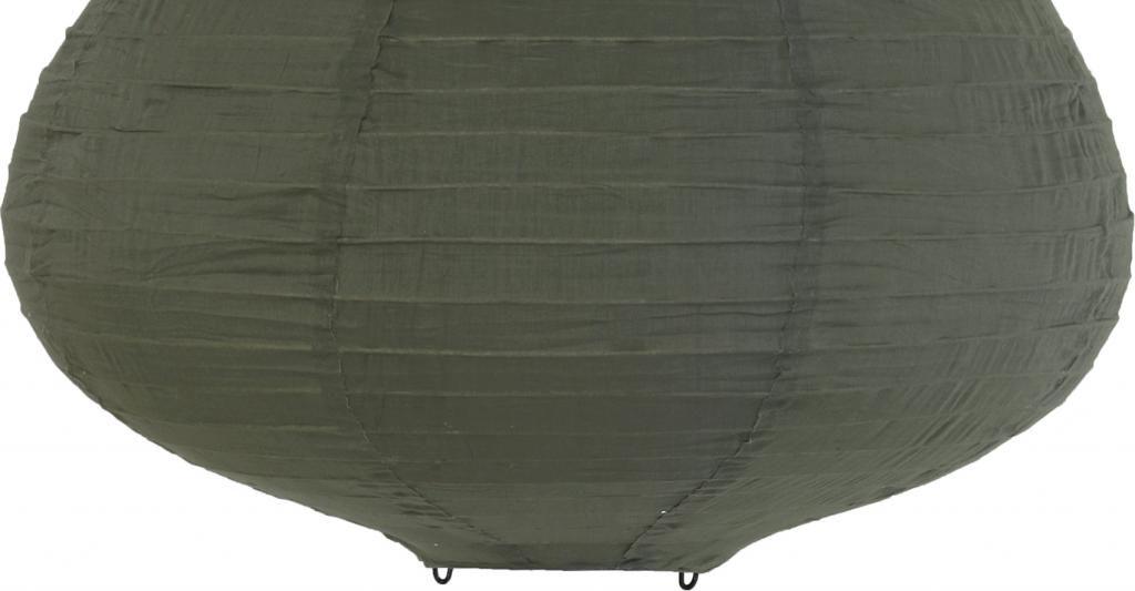 Hk Living Hanglampen : Hk living hängelampe laterne armeegrün stoff 65cm mit deckenkappe